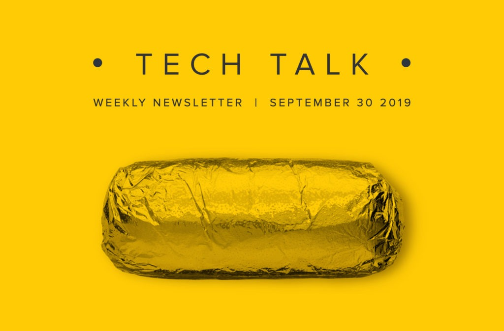 EMPIST Tech Talk Weekly Newsletter: Monday, September 30, 2019