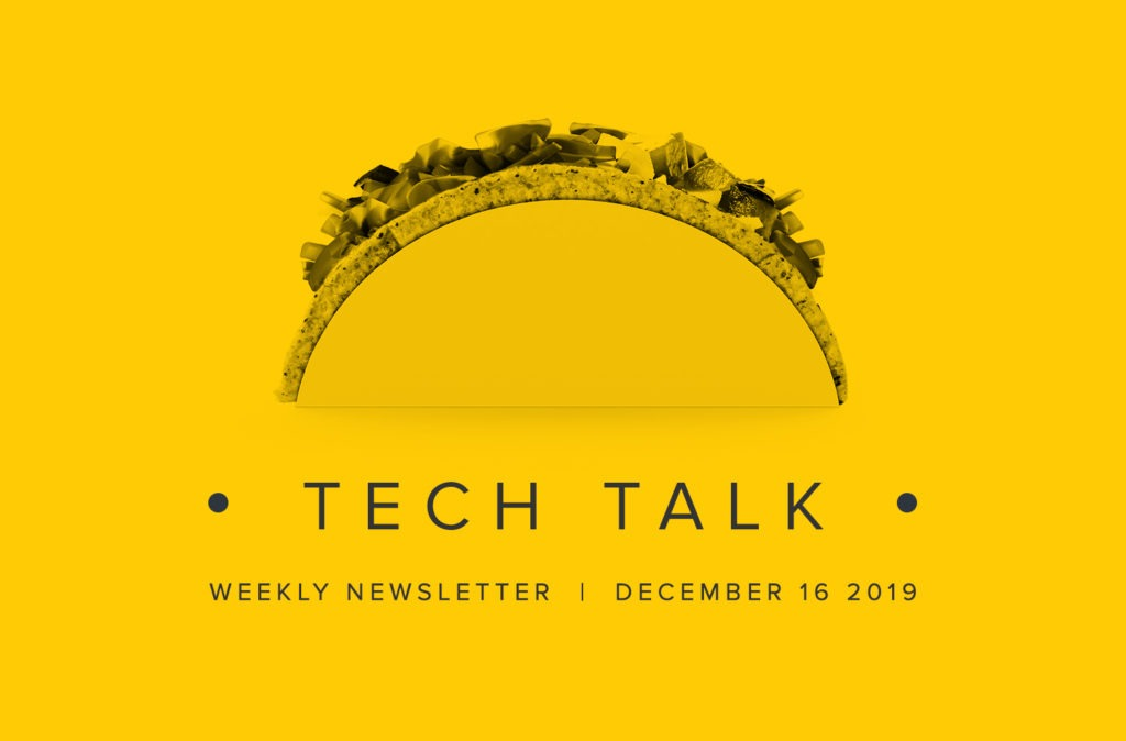 EMPIST Tech Talk Newsletter: Monday, December 16, 2019