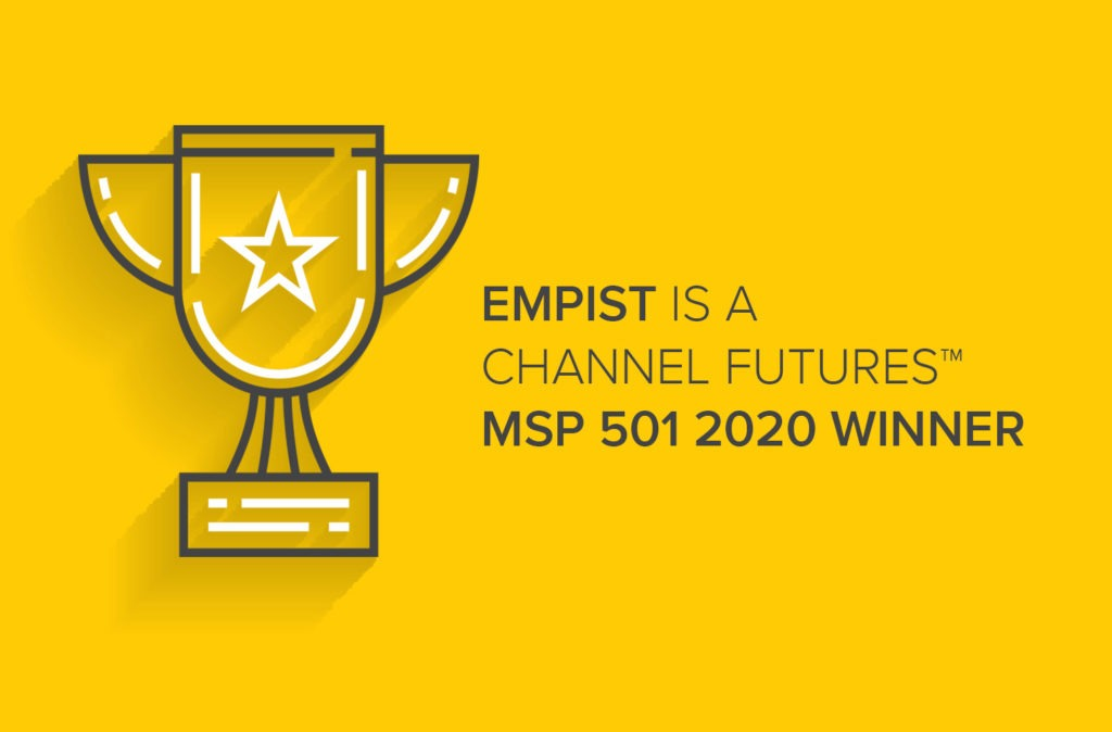 EMPIST Ranks #116 on the Channel Futures™ MSP 501 List