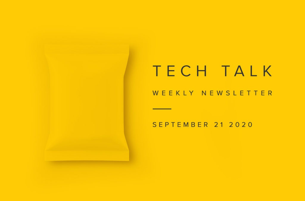 EMPIST Tech Talk Weekly Newsletter: Monday, September 21, 2020