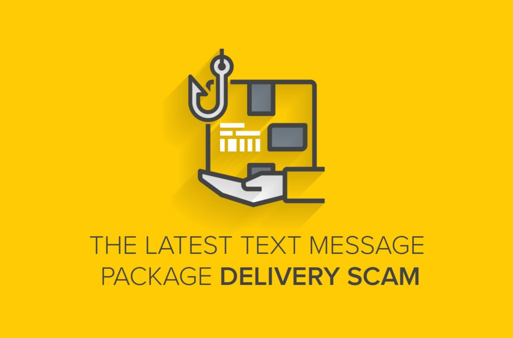 The Latest Text Message Package Delivery Scam
