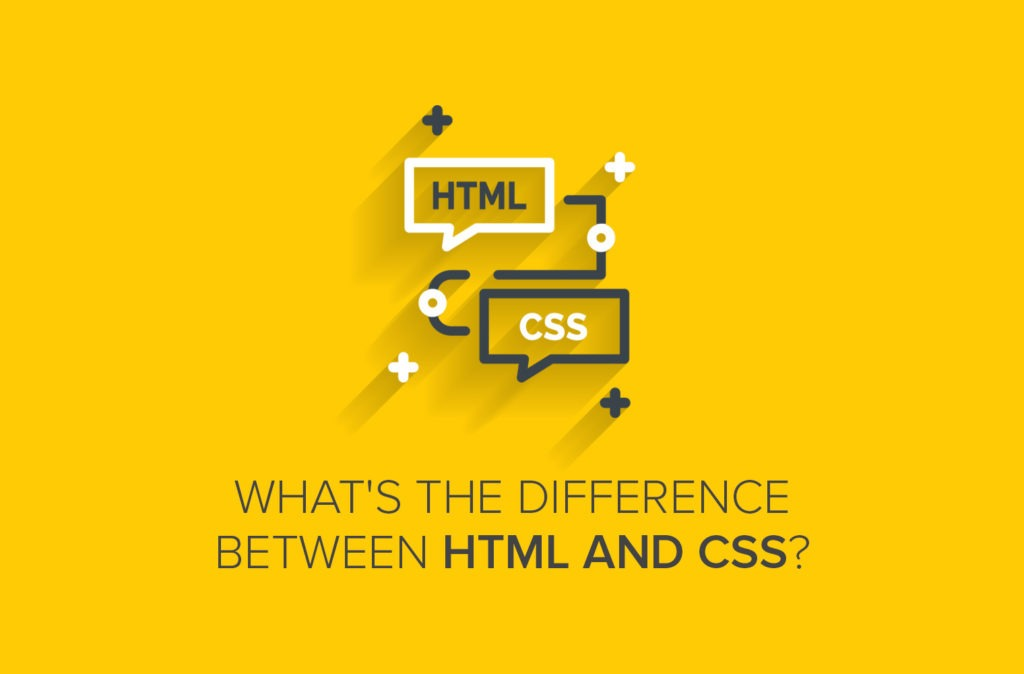 What's the Difference between HTML and CSS?